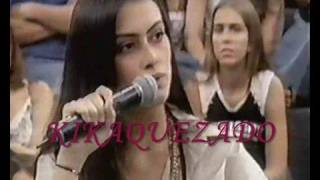 Cleo Pires no Altas Horas em 2004