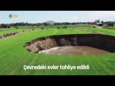 NTV | Dev obruk böyle oluştu