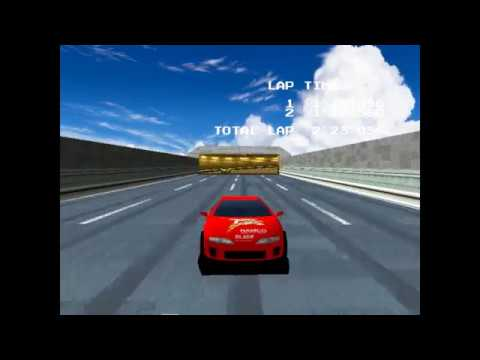 Ridge Racer リッジレーサー (Namco system 22) 1993 Mameui64