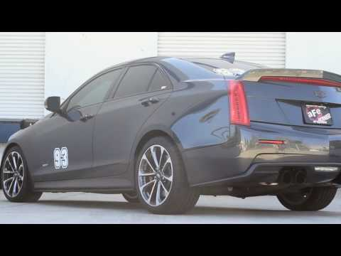 aFe POWER 2016-2017 Cadillac ATS-V V6-3.6L (tt) Cat-Back Exhaust System Sound Clip