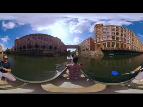 360° LEIPZIG PANORAMA - Unterwegs auf dem Wasser