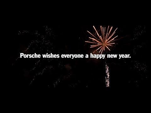 Happy New Year from Porsche.