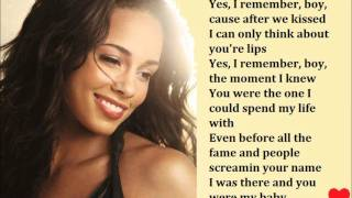 My Boo - Usher Alicia Keys Lyrics