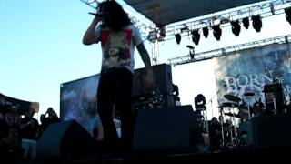 Live @ California Metalfest 11-24-2012 Born of Osiris - Two Worlds of Design
