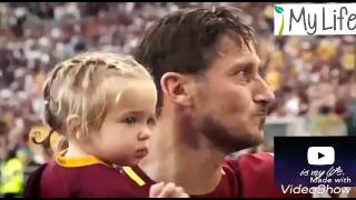 أعتزال فرانشيسكو توتي retired Francesco Totti 😢😢😢😢        👑👑👑 ملك روما Owner of Rome 👑👑👑