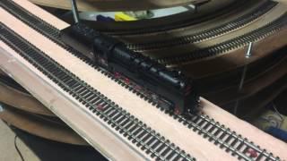 Zkouška parní lokomotivy 555.1 Tillig