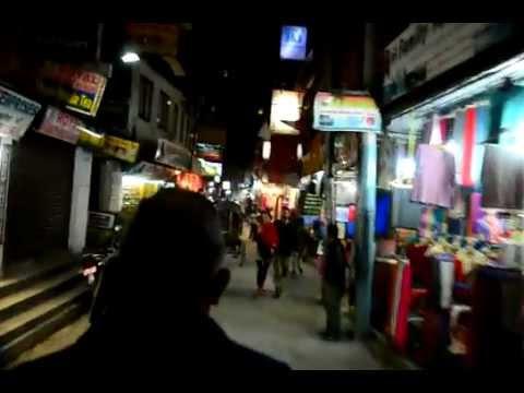 Thamel ride, Kathmandu, Nepal.