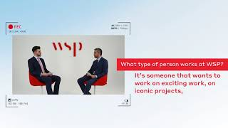 What type of person works for WSP?