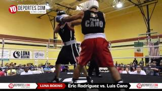 Eric Rodriguez vs. Luis Cano Joliet Luna Boxing 2015