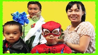 Doc Mcstuffins Checkup Superman Mom Happy Mothers Day funny kids movie in real life