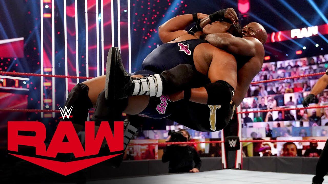 WWE - Keith Lee vs. Bobby Lashley – Winner Advances to Triple Threat Match: Raw, Nov. 23, 2020