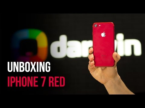 Unboxing iPhone 7 RED (Română)