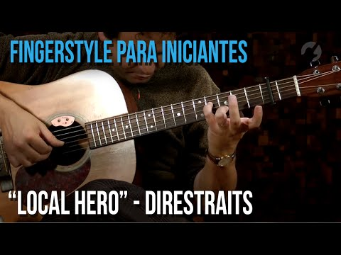 Dire Straits - Local Hero (fingerstyle para iniciantes)