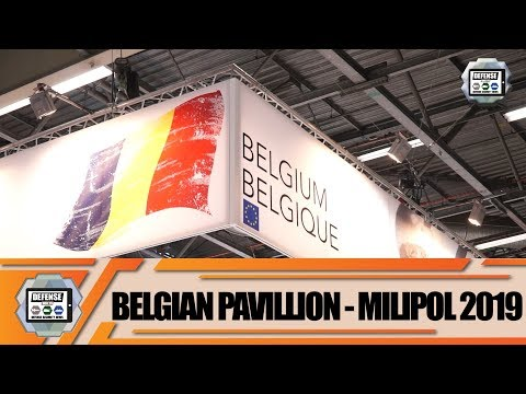Belgian Security Defense Industry BSDI Milipol Paris 2019 Homeland Security Safety Exhibition France