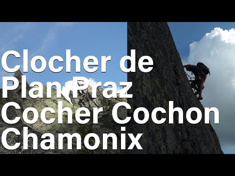 Cocher Cochon Clocher de Plan Praz Le Brévent Aiguilles Rouges Chamonix alpinisme escalade