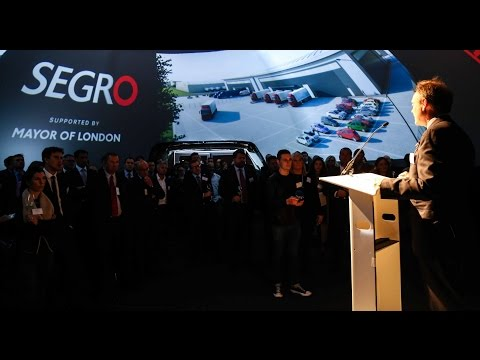 SEGRO Park Rainham Igloo Dome Launch