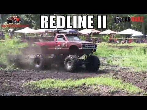 REDLINE II Chevy Mega Truck Mudding At Perkins Summer Sling Mud Bog 2018