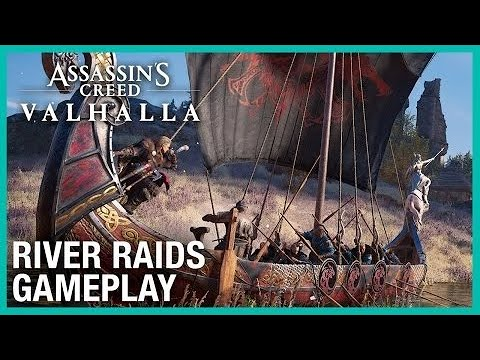 Assassin's Creed Valhalla: New River Raids Mode Gameplay   Ubisoft Game