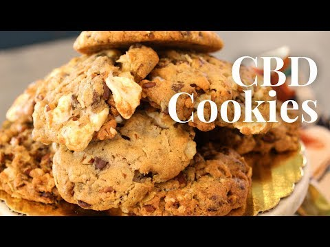 Delicious Vegan Cookies Infused With CBD Oil!