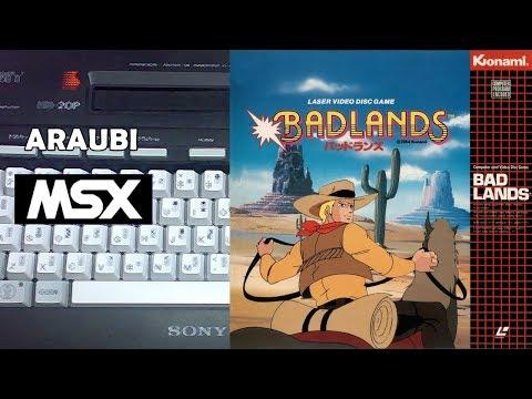Badlands (Konami, 1984) MSX [712] Walkthrough