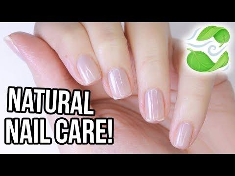 DIY Healthy & Natural Nail Care // NO HARSH TOOLS!