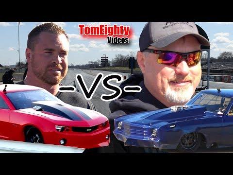 Street Outlaws Drag Racing - Doc Beats Fireball Camaro