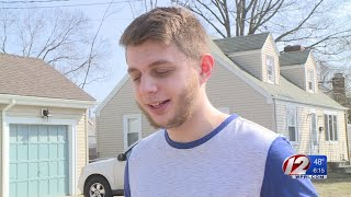 Teen hailed a hero after saving a woman's life