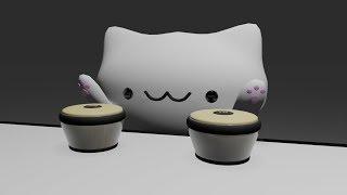 Bongo cat but it's realistic