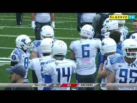 Tychy Falcons - Archers Bydgoszcz 30:0