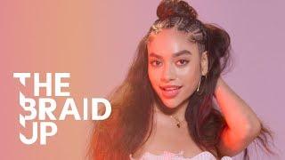 Half-Up Stitch Braids | The Braid Up | Cosmopolitan