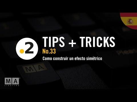 dot2 tips and tricks No33 - Como construir un efecto simétrico