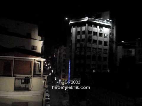HE-72003 Uzun Menzilli Projektör 1000w