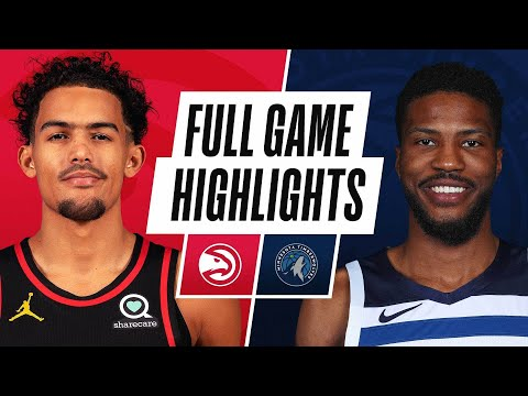 HAWKS at TIMBERWOLVES | FULL GAME HIGHLIGHTS | January 22, 2021
