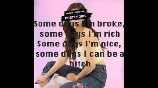 Pretty Girl by Maggie Lindemann Lyrics