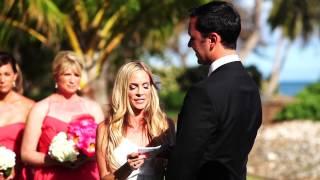 Jaime + Peter: Maui Wedding Video   Olowalu Plantation house
