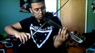 The Hoobastank - The Reason, electric violin cover by Steve Ramsingh