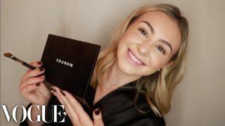 Sara Shaban's Secret to Glowy & Bronzy Skin -Vogue Makeup Routine