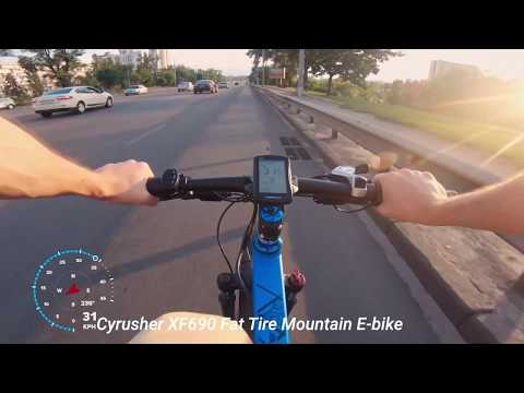 Cyrusher Fat Tire Electric Bikes Collections 2019 XF800, XF690, XF660