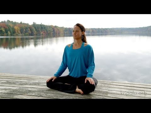 Larissa Hall Carlson at Kripalu: Sheetali Pranayama