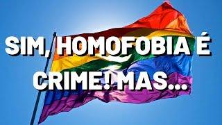 CRIMINALIZAÇÃO da HOMOFOBIA pelo STF? O que é a ADO 26? | DIREITO À CAFEÍNA