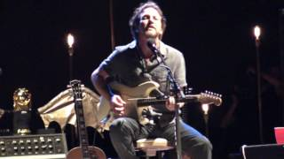 Eddie Vedder - BRAIN DAMAGE [Pink Floyd] / SOMETIMES @ Ohana Festival 08-27-16