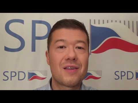 Tomio Okamura: EU pokračuje v cestě Napoleona a Hitlera
