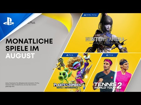 PlayStation Plus | August 2021