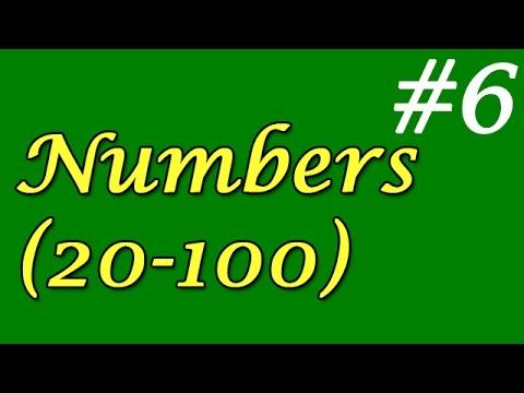 6 - Numbers 20-100 (Sayılar 20-100)