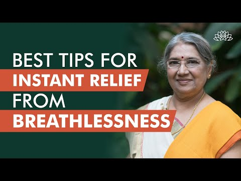 What to do at the time of Breathlessness? | Dr Hansaji Yogendra