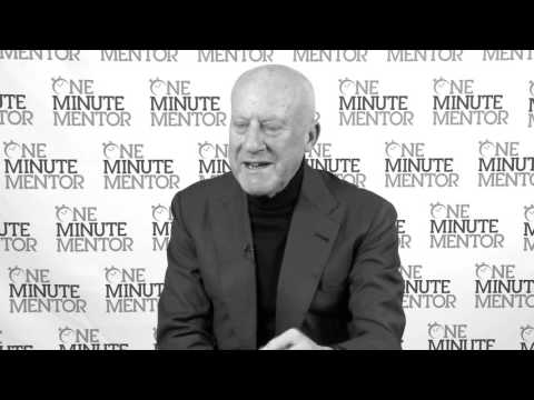 Hearst One Minute Mentor: Norman Foster on Collaboration