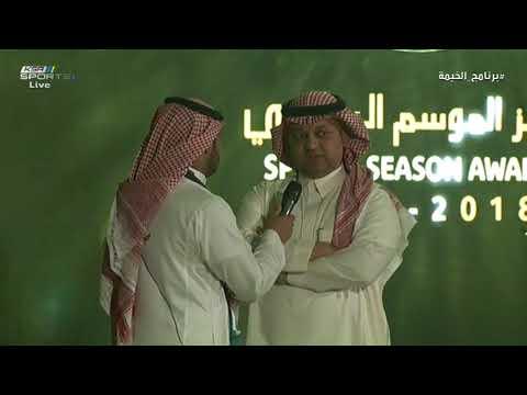 تصريح عادل عزت بعد نهاية حفل #جوائز_الموسم_الرياضي #برنامج_الخيمة