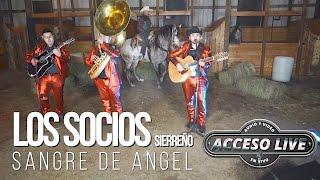 Sangre de Angel (Live) - Los Socios #Acceso live Grabado en el Rancho San Isidro