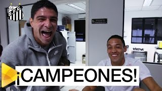Renato comemora título do Sevilla e brinca com Ricardo Oliveira