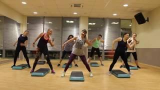 Show Me How You Burlesque | ZUMBA- STEP FITNESS MAXFIT (Choreo by Lyudmila Luchina)